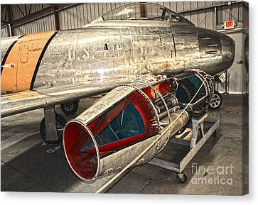 MIG Canvas Print by Gregory Dyer