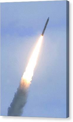 Minotaur Iv Lite Launch Canvas Print by Science Source