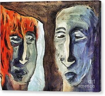 Mirroring - Retrospect Canvas Print by Michal Boubin