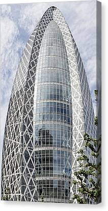Mode Gakuen Cocoon Tower Canvas Print by For Ninety One Days