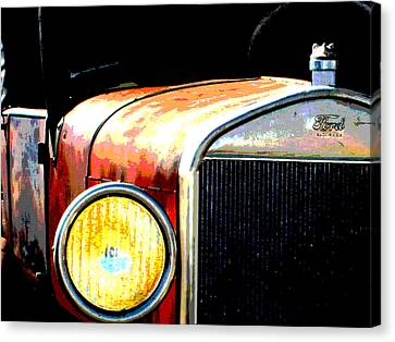 Model T Ford Roadster Pickup Truck Canvas Print by Copyright -  Gayland Isley