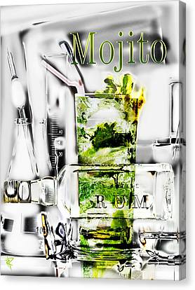 Mojito Canvas Print by Russell Pierce