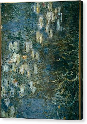 Monet, Claude 1840-1926. Morning Canvas Print by Everett