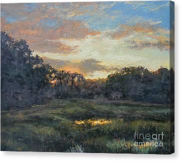 Morning On The Marsh - Wellfleet Canvas Print by Gregory Arnett