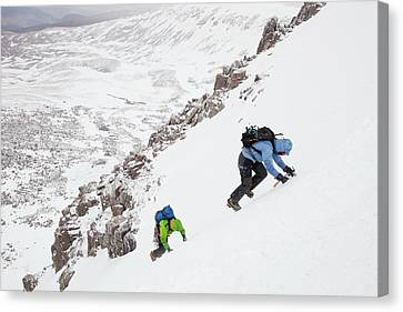 Mountaineers Canvas Print by Ashley Cooper