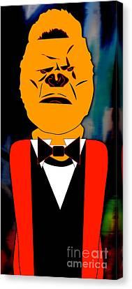 Mr Ape Canvas Print by Marvin Blaine
