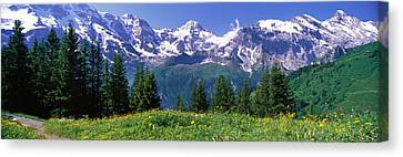 Murren Switzerland Canvas Print by Panoramic Images