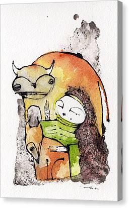 Mythos 2 Canvas Print by Mark M  Mellon