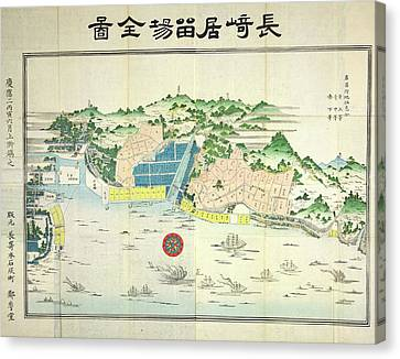 Nagasaki Canvas Print by British Library
