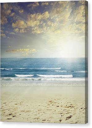 New Day Canvas Print by Les Cunliffe
