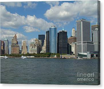 New York City Canvas Print by Anthony Morretta