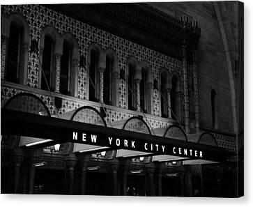 New York City Center Canvas Print by Dan Sproul