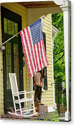 New York, Cooperstown Canvas Print by Cindy Miller Hopkins