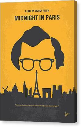 No312 My Manhattan Minimal Movie Poster Canvas Print by Chungkong Art