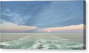 Norwegian Pearl Canvas Print by John  Poon
