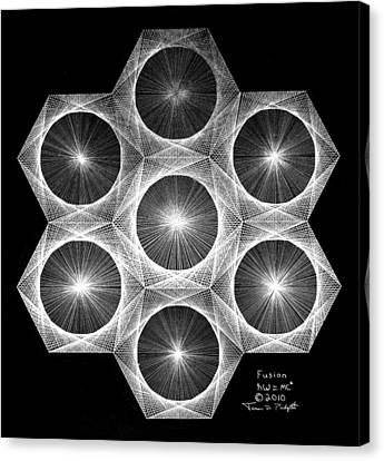Nuclear Fusion Canvas Print by Jason Padgett