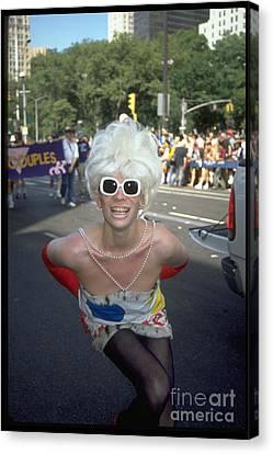 Nyc Gay Pride 2006 Canvas Print by Mark Gilman