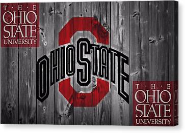 Ohio State Buckeyes Canvas Print by Dan Sproul