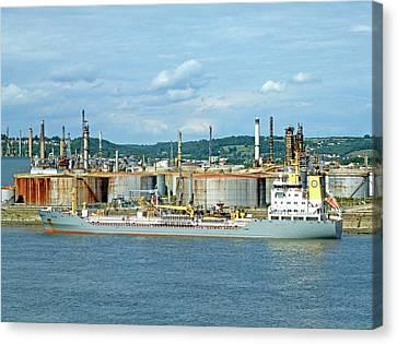 Oil Tanker Canvas Print by Alex Bartel