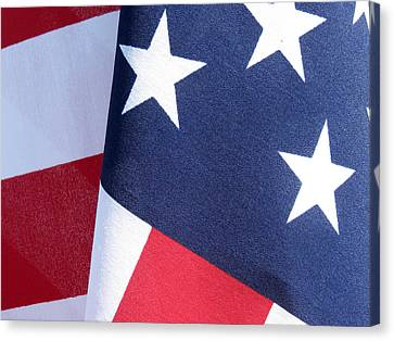 Old Glory Canvas Print by Laurel Powell