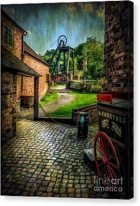 Old Mine Canvas Print by Adrian Evans