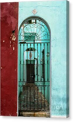 Old San Juan Puerto Rico Canvas Print by Thomas R Fletcher