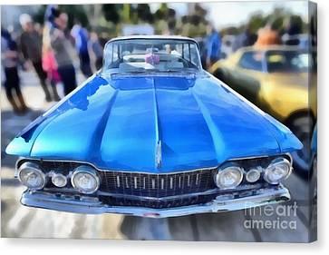 1959 Oldsmobile Dynamic 88 Canvas Print by George Atsametakis