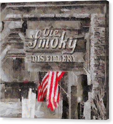 Ole Smoky Distillery Canvas Print by Dan Sproul