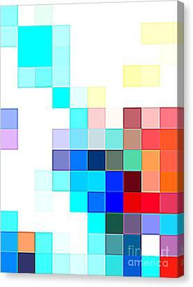 palette Mosaic Canvas Print by Antonio  Cristo