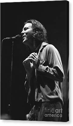 Pearl Jam Canvas Print by Concert Photos