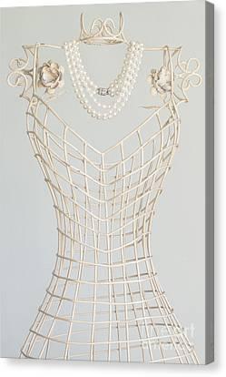 Pearls Canvas Print by Margie Hurwich