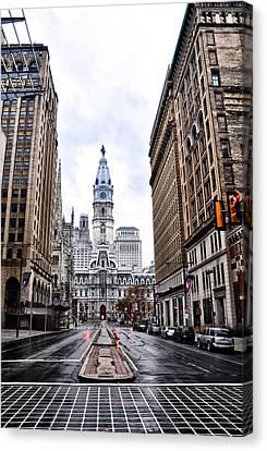 Philadelphia City Hall  Canvas Print by Bill Cannon