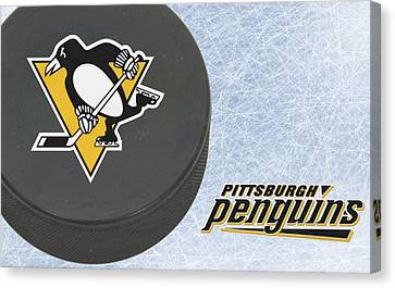 Pittsburgh Penguins Canvas Print by Joe Hamilton
