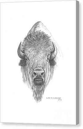 Plains Buffalo Canvas Print by Lee Updike