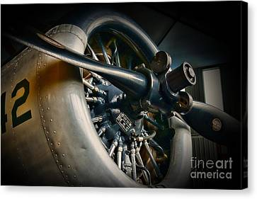 Plane Propeller  Canvas Print by Paul Ward