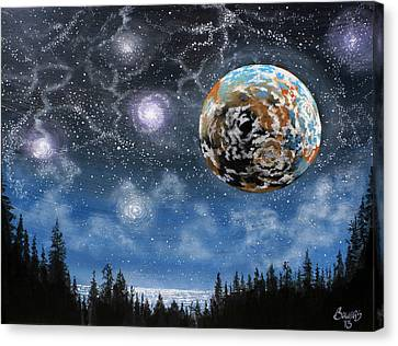 Planet X Niburu Canvas Print by Jim Bowers