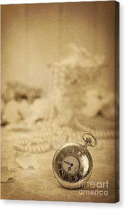 Pocket Watch Canvas Print by Amanda And Christopher Elwell