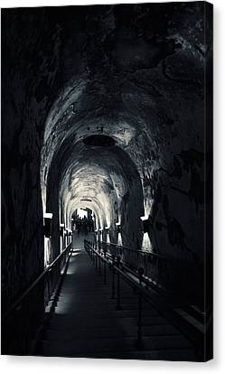 Pommery Champagne Winery Passageway Canvas Print by Panoramic Images