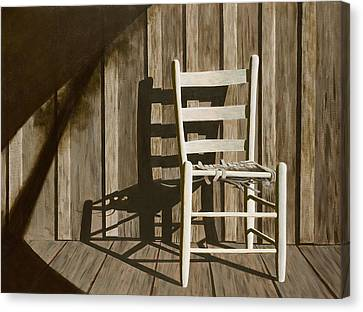 Porch Chair Canvas Print by Garry McMichael
