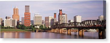 Portland, Oregon, Usa Canvas Print by Panoramic Images