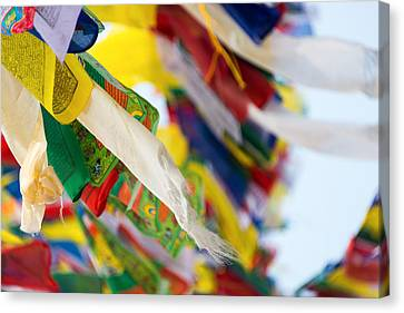 Prayer Flags Canvas Print by Dutourdumonde Photography