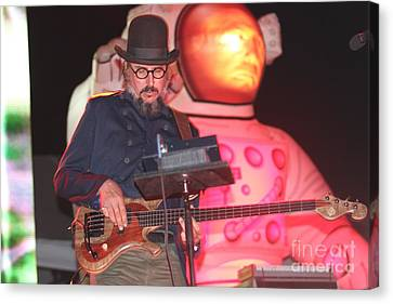 Primus - Les Claypool Canvas Print by Front Row  Photographs
