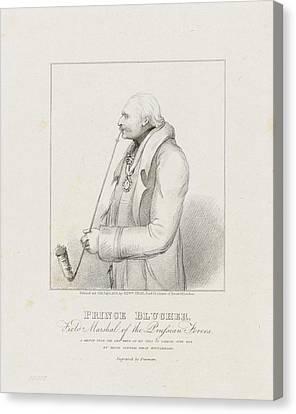 Prince Blucher Canvas Print by Samuel Freeman