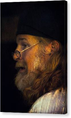 Profile Canvas Print by John Rivera