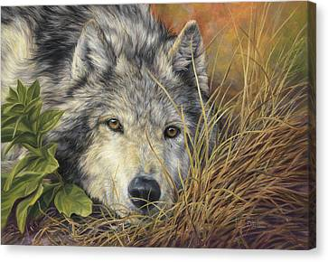 Pure Soul Canvas Print by Lucie Bilodeau