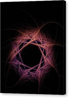 Quantum Entanglement Conceptual Image Canvas Print by David Parker
