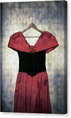 Red Dress Canvas Print by Joana Kruse
