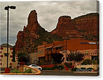 Red Rock Country, Sedona Canvas Print by Beverly Guilliams