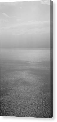 Reflection Of Clouds On Water, Lake Canvas Print by Panoramic Images