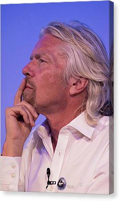 Richard Branson. Canvas Print by Mark Williamson